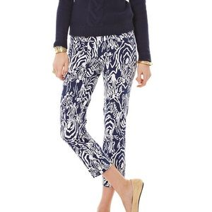 Lilly Pulitzer Luxury Capri Printed Pant